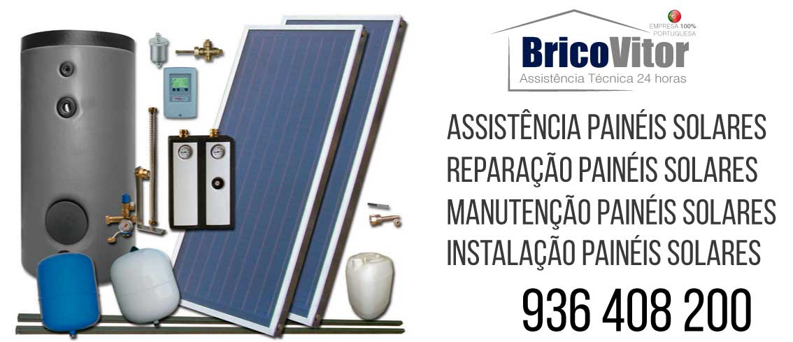 Assistência Painéis Solares Solahart Bairro da Estrela,